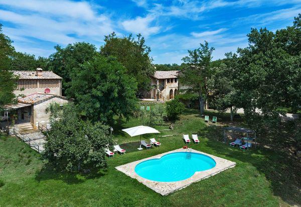Maisons de vacances avec piscine à Toscane, Italie ...