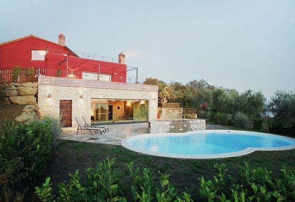 Villas De Luxe Avec Piscine En Ombrie Maisons De Vacances De